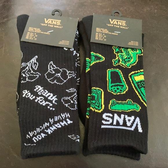 Vans Crew Socks 2 Pairs